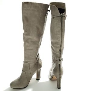 NEW Dolce Vita Mack Back Zip Taupe Boot